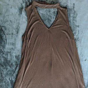 Black A Byer Choker Dress Plus Size 2